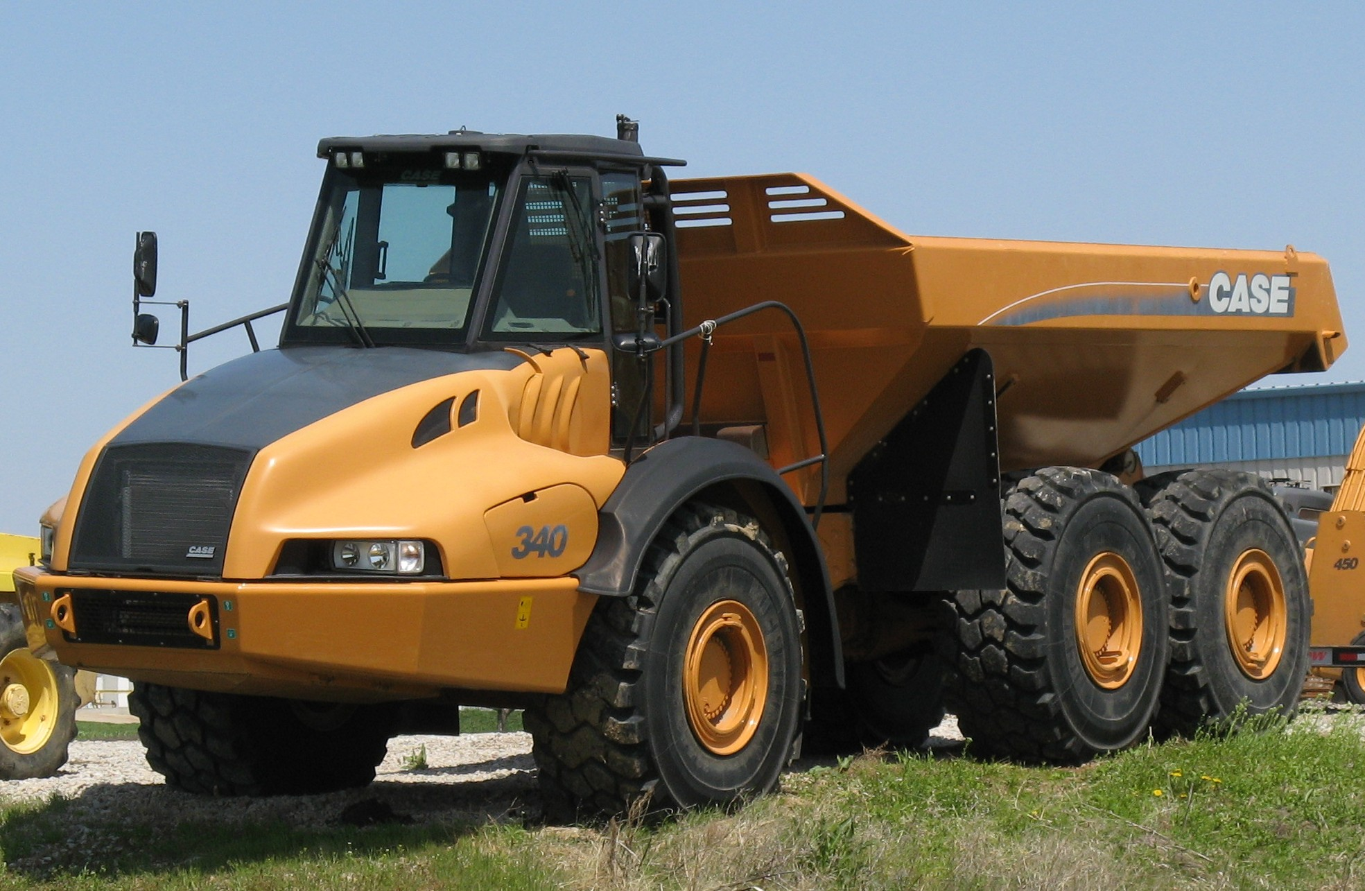 File Case 340 Dump Truck Jpg Wikimedia Commons