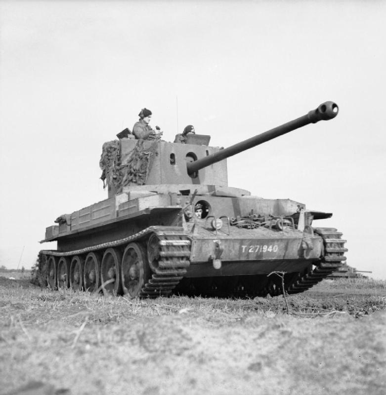 A30 Challenger tank