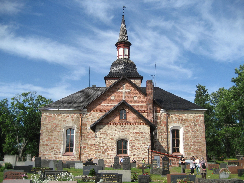 File Church In Aland Jpg Wikimedia Commons