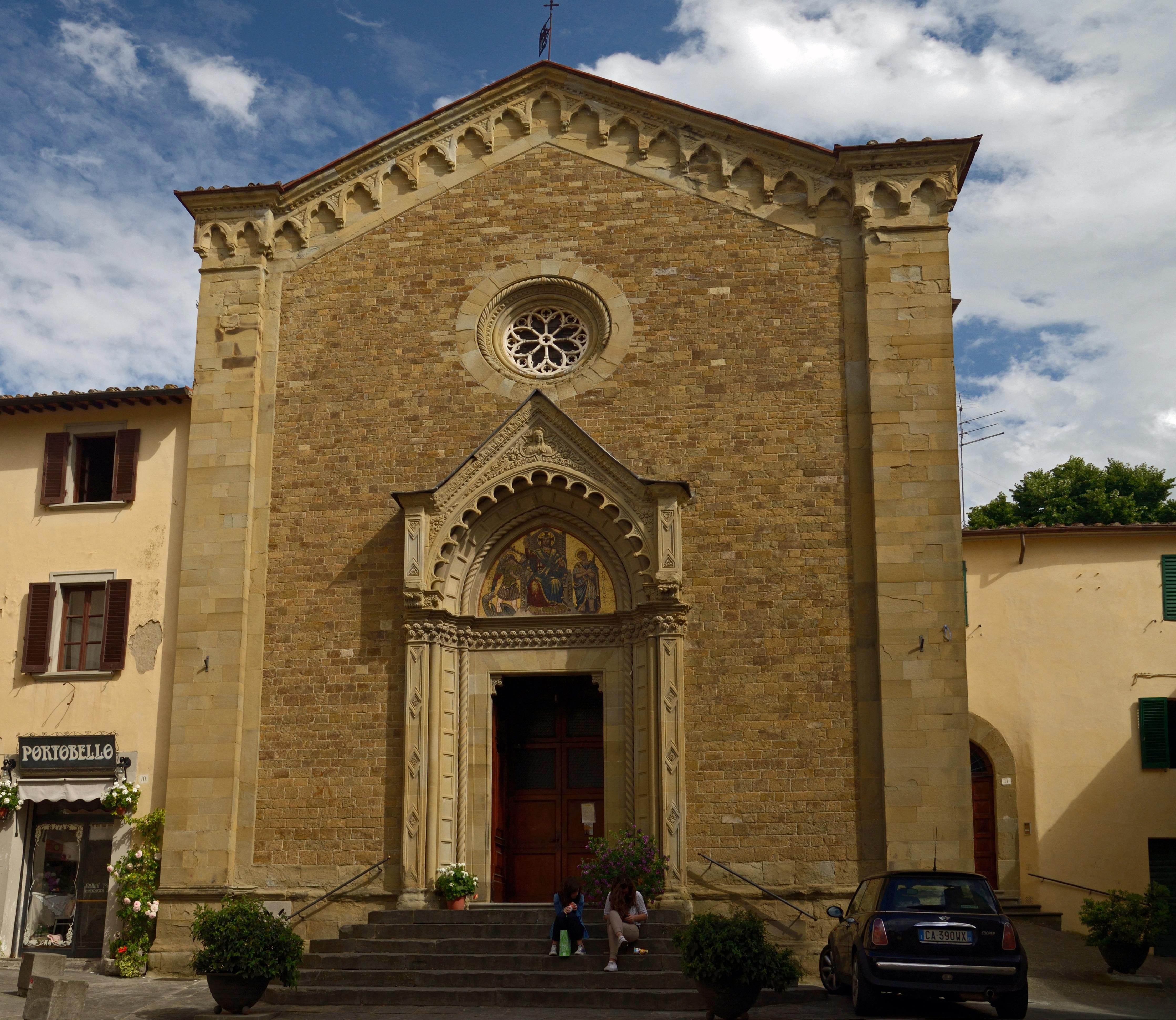 file church of san michele in arezzo. Black Bedroom Furniture Sets. Home Design Ideas
