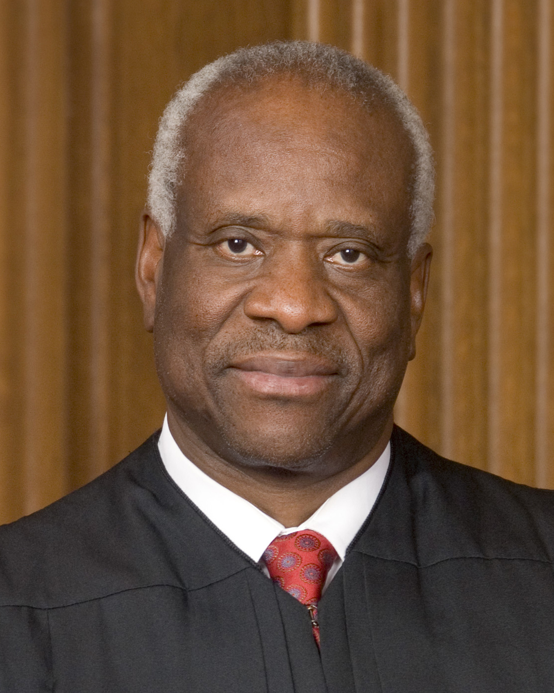 The star of this show: Justice Clarence Thomas. Source: Wikipedia (linked).
