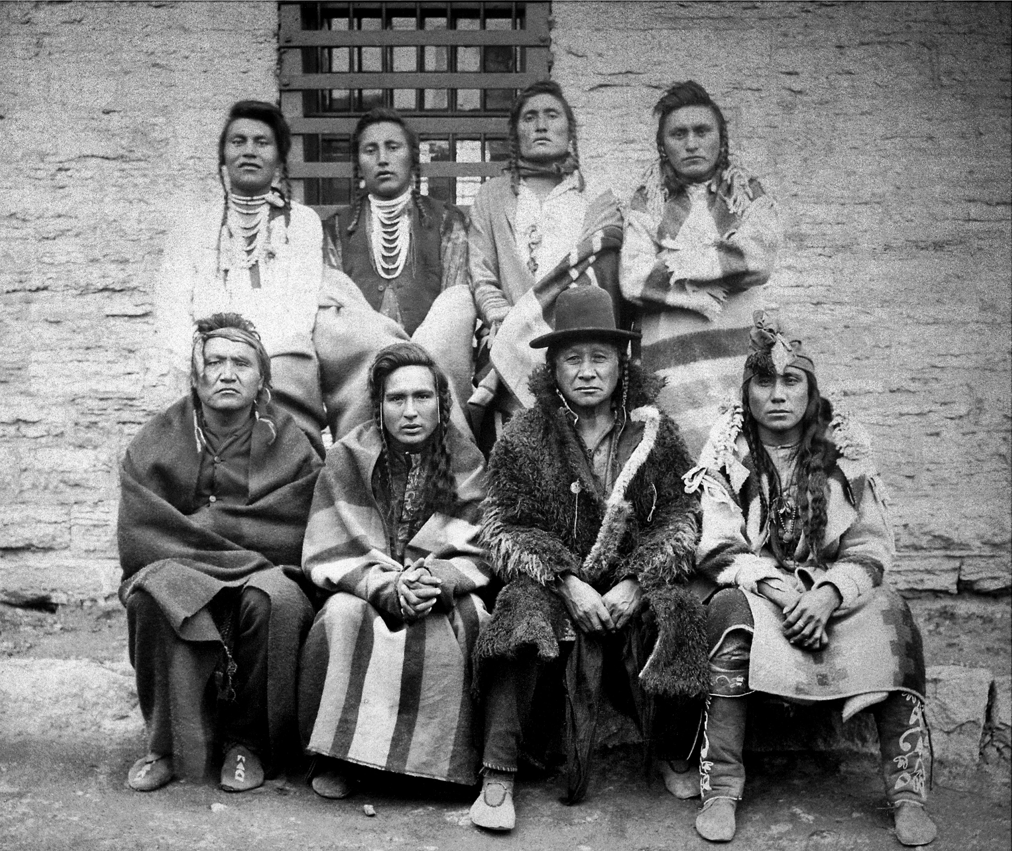Montana Native Plants: File:Crow Indian Chiefs. Captured At Custer Battlefield