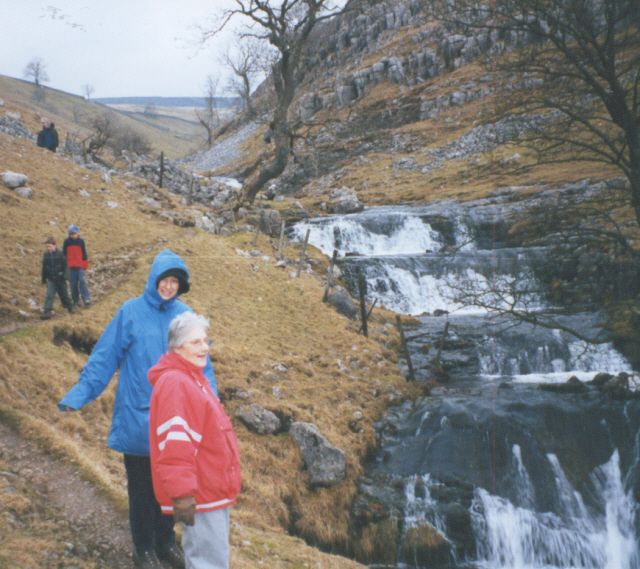 Dowber Gill waterfalls - geograph.org.uk - 194142