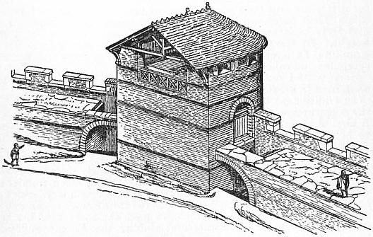 EB1911 Fortification - Fig. 2.—One of the Towers at Carcassonne.jpg