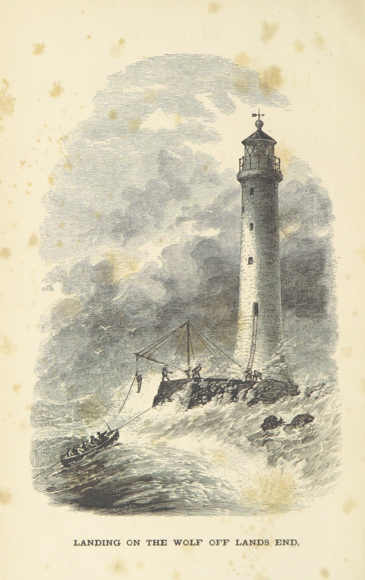 Image result for wolf rock lighthouse public domain