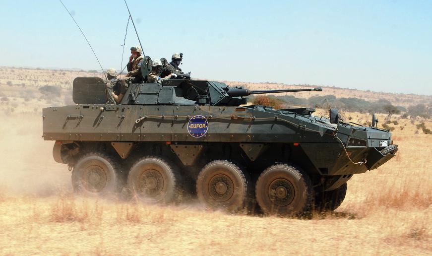 APC Rosomak Armoured Personal Carrier Military