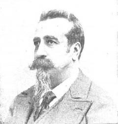 Depiction of Enrique Gaspar y Rimbau