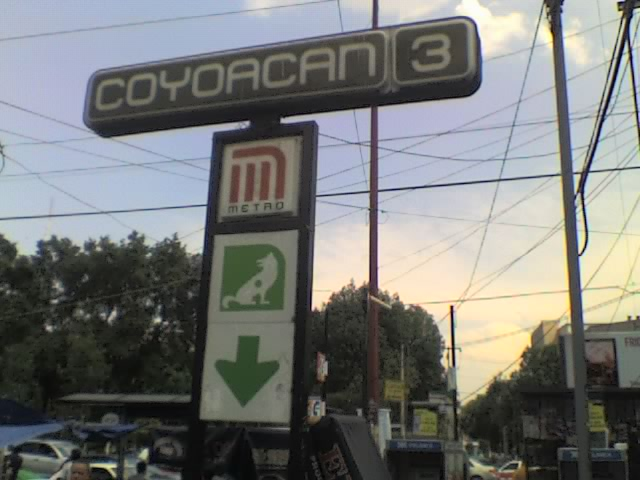 Metro coyoac n wikipedia for Viveros en el df