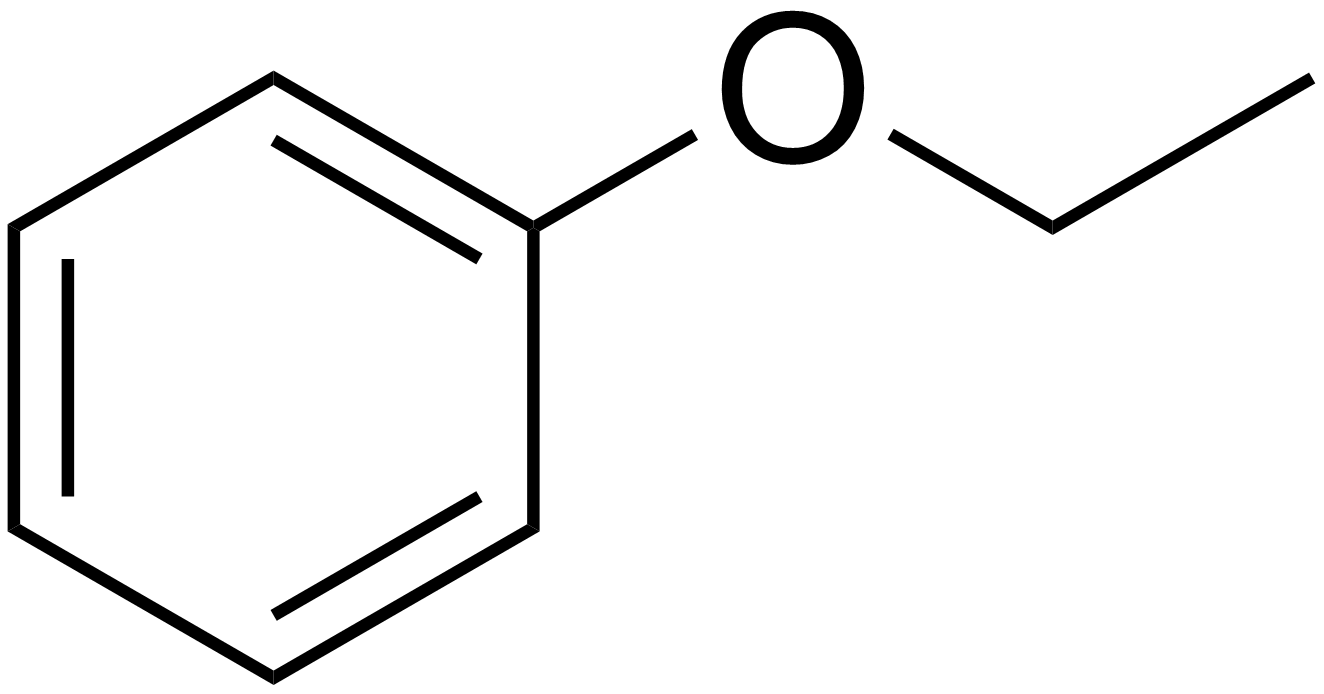 File:Ethyl phenyl ether.png - Wikimedia Commons