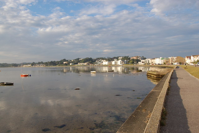 File:Evening sunshine over Poole Harbour - geograph.org.uk - 887983.jpg
