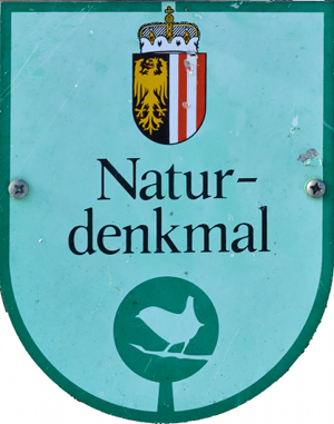File:Example natural monument sign, Upper Austria.png