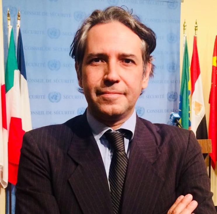 Felipe Machado at [[UN]] in 2017