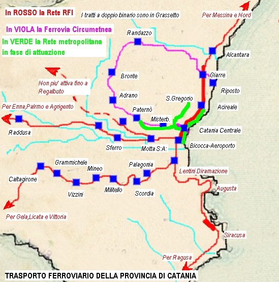 Cartina Ferroviaria Toscana.Rete Ferroviaria Della Sicilia Wikiwand