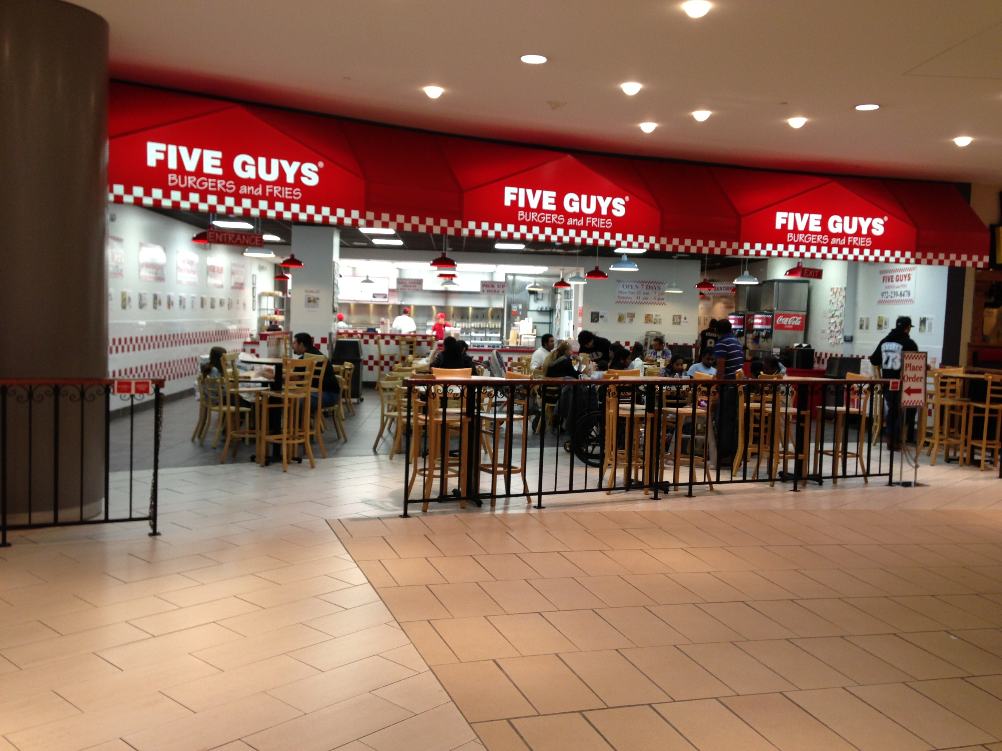 Five Guys And Fries Kansas City