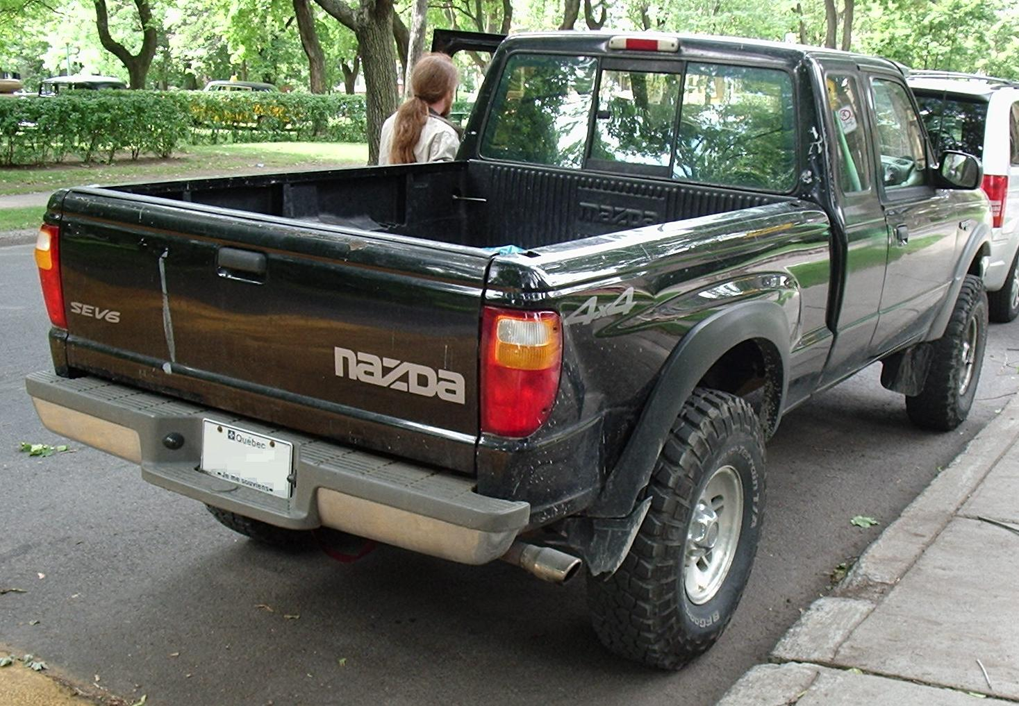 File Ford Ranger Xl Ext Cab With Mazda B Series Trunklid