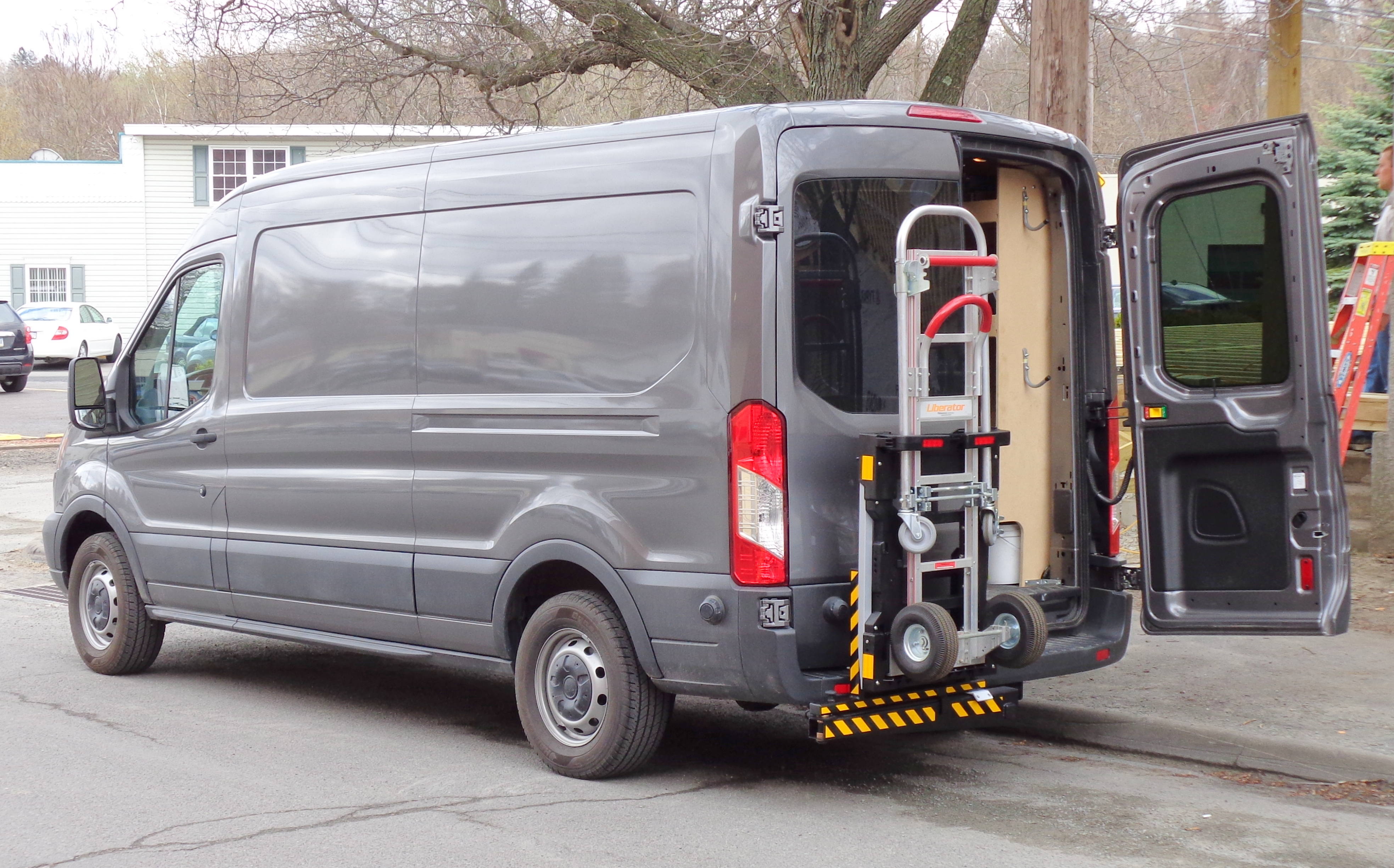 File Ford Transit 250 cargo van HTS Systems Wikimedia mons