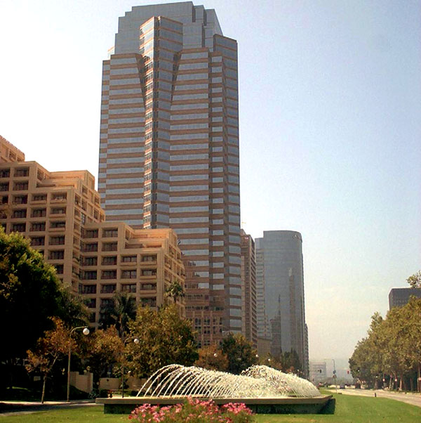 The Fox Plaza in Century City, headquarters for 20th Century Fox, is a major financial district for West Los Angeles