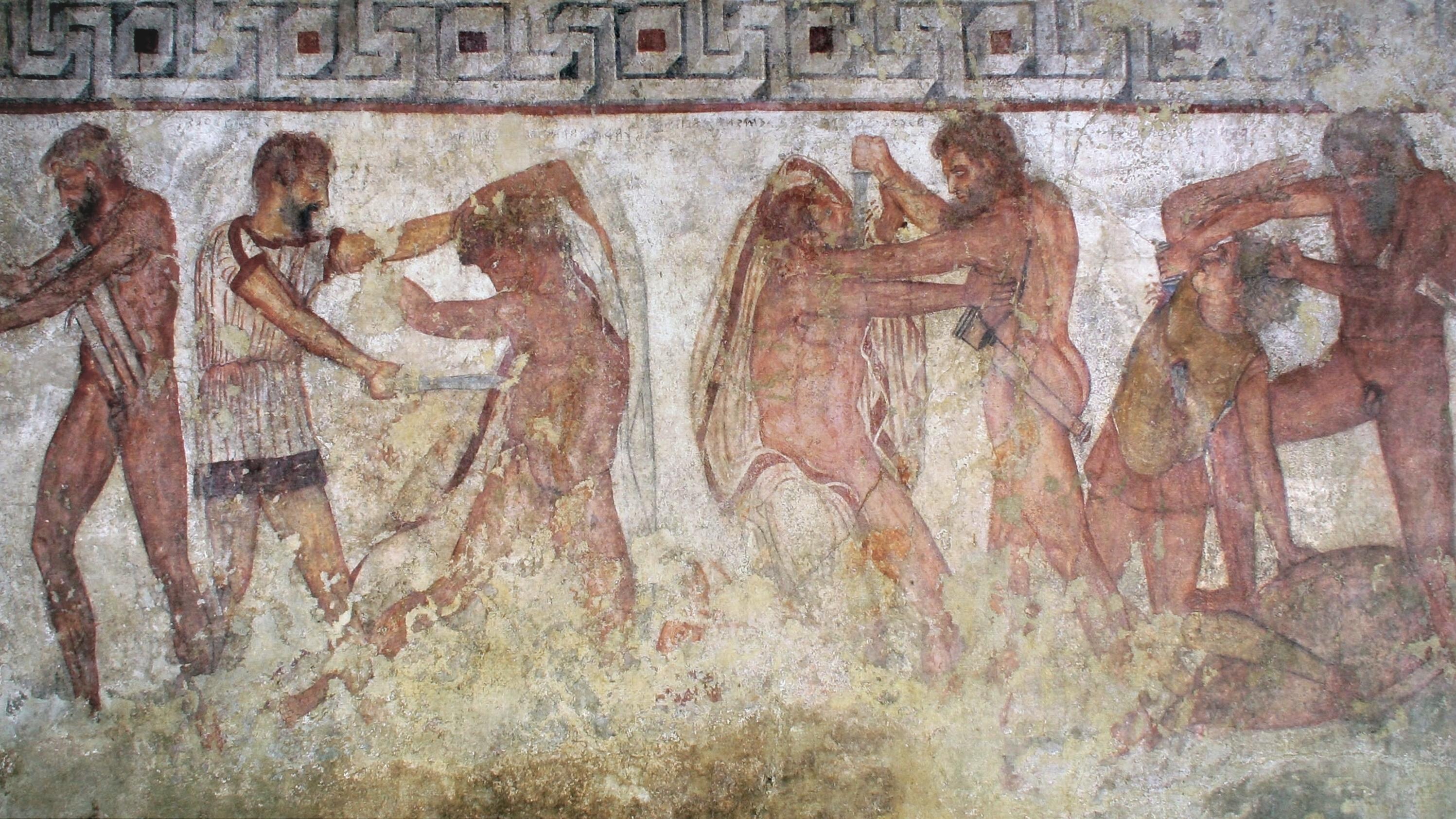Necropoli di Ponte Rotto a Vulci