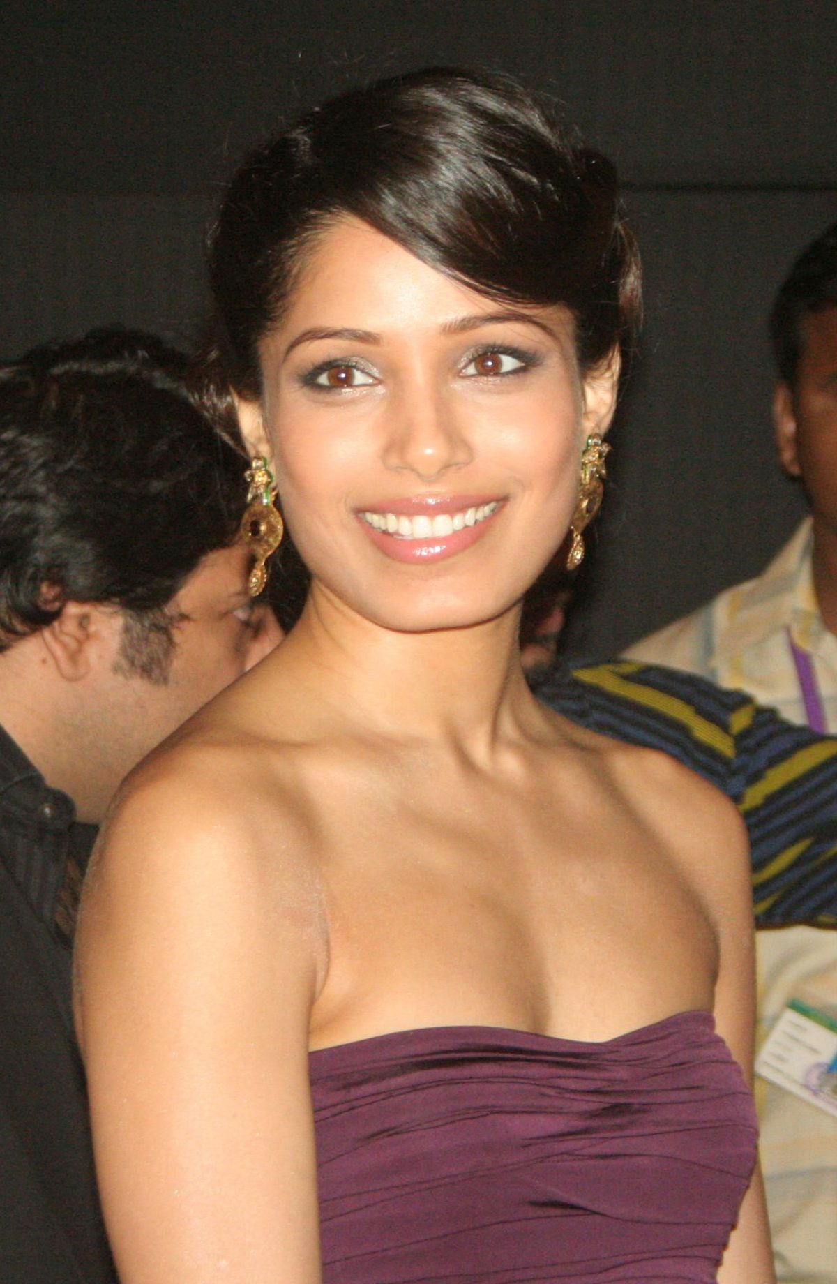 Freida Pinto earned a  million dollar salary, leaving the net worth at 8 million in 2017