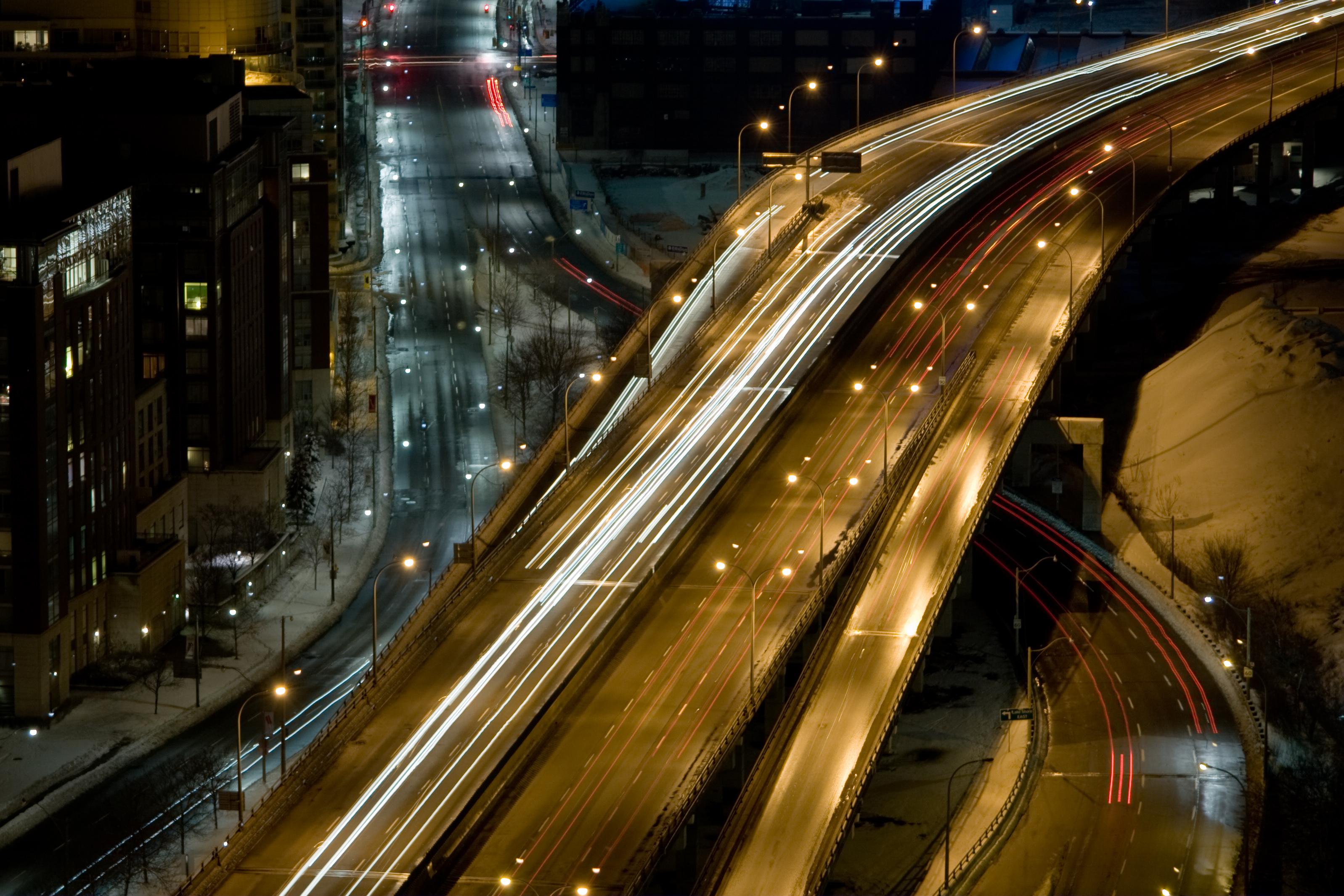 Gardiner Expressway : File gardiner expressway b g wikimedia commons
