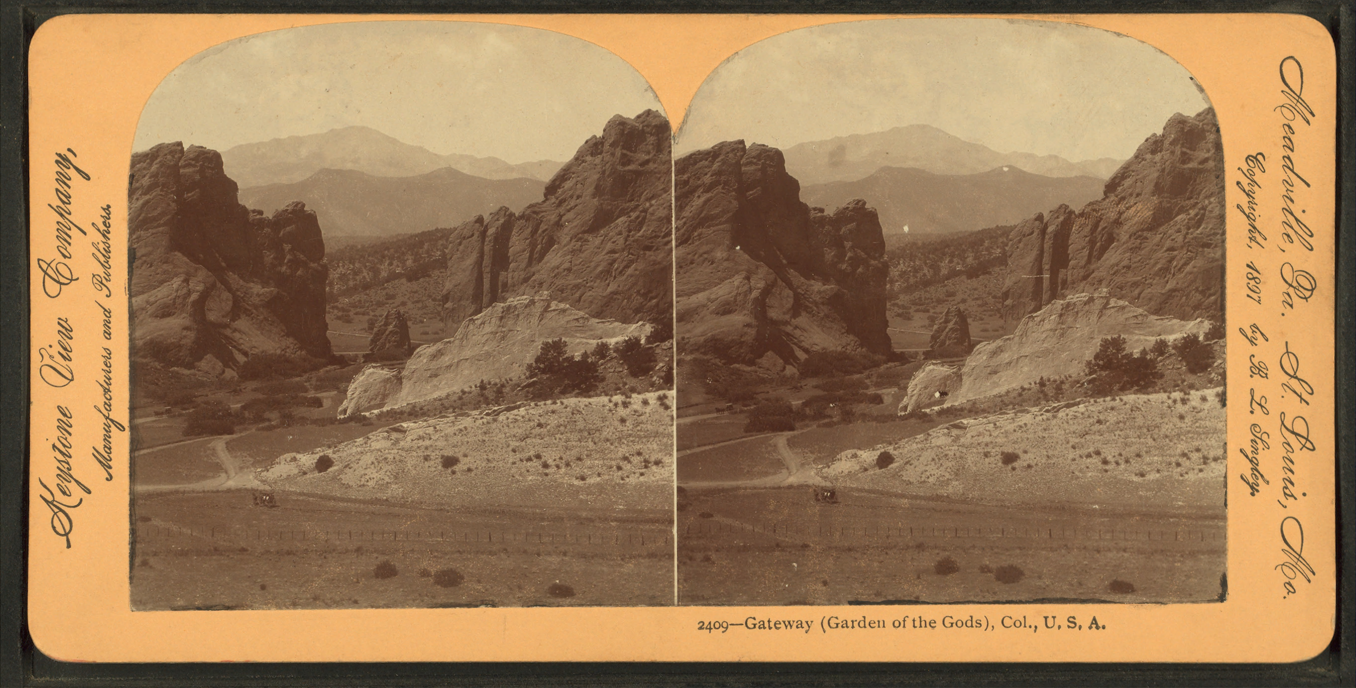 File Gateway Garden Of The Gods Colorado U S A From