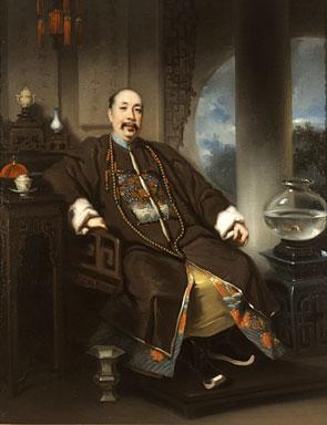 Portrait of the Hong Merchant Mowqua