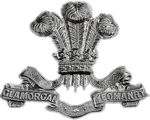 Glamorgan Yeomanry cap badge