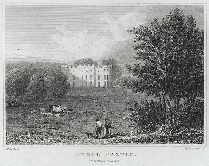Gnoll Castle, Glamorganshire
