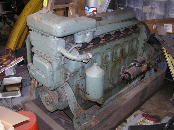 Gray marine 6 71 diesel engine for General motors marine engines