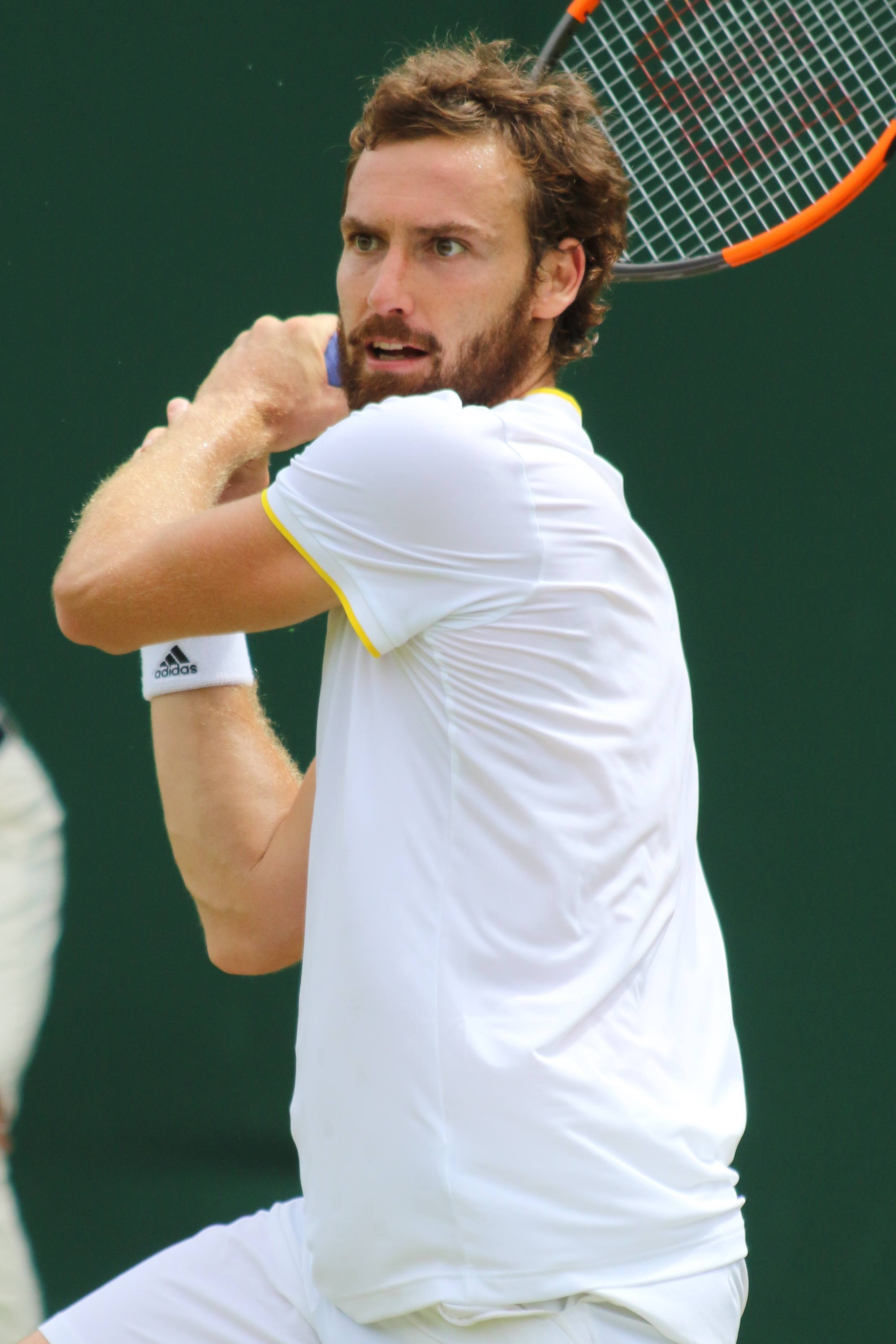 The 29-year old son of father Ainārs Gulbis  and mother Milena Gulbe Ernests Gulbis in 2018 photo. Ernests Gulbis earned a  million dollar salary - leaving the net worth at 4 million in 2018