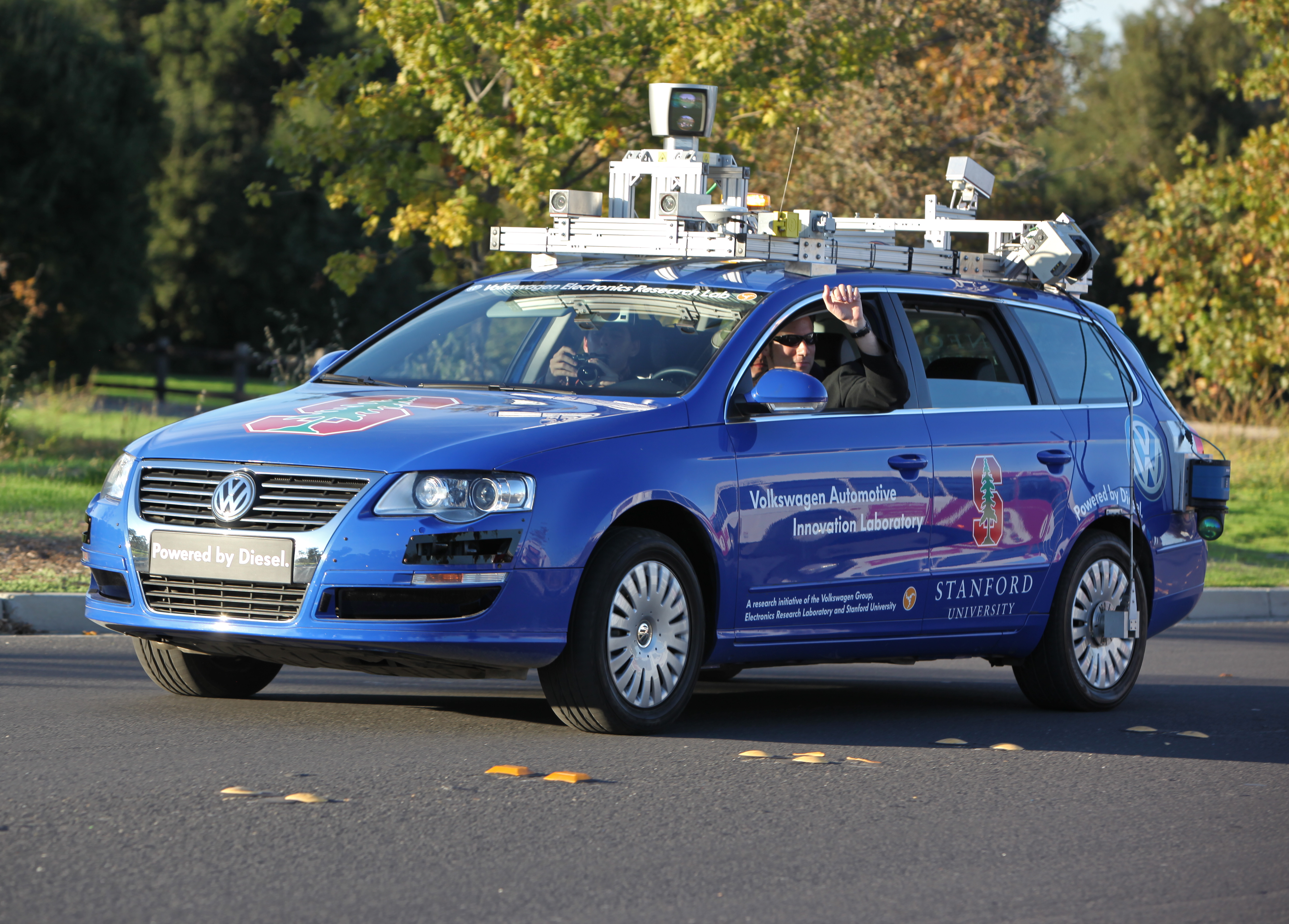 Driverless Cars Are Leaving Cities In The Dust Report Says