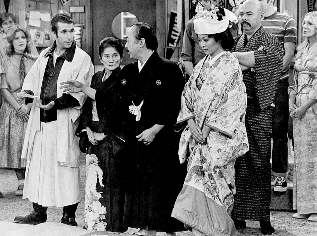 File:Happy Days Arnold's Wedding 1976.jpg - Wikimedia Commons