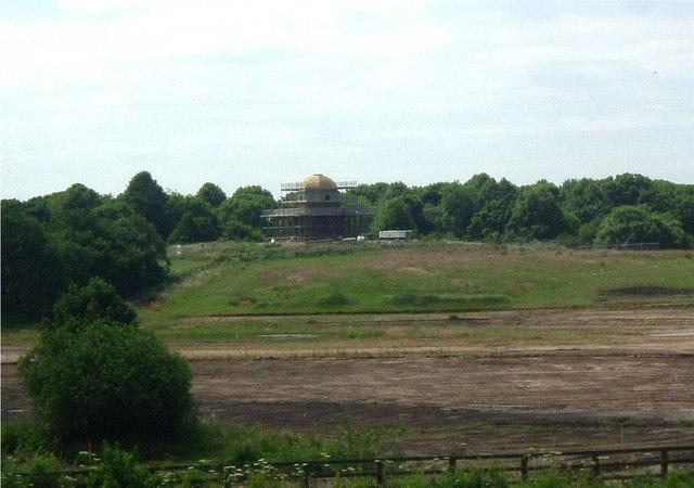 Hardwick Park temple - geograph.org.uk - 256219