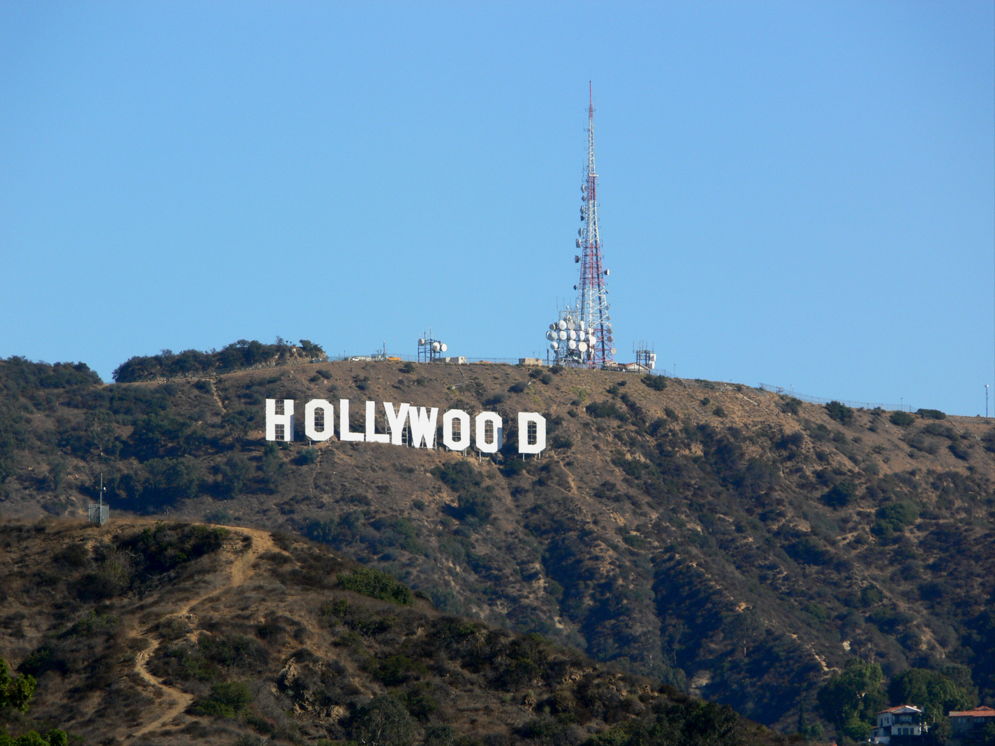 File:Hollywood sign 2008.jpg - Wikimedia Commons