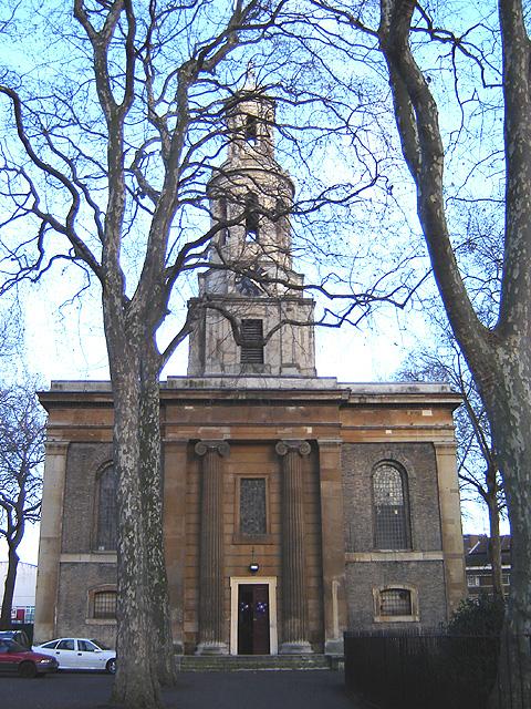 St. John the Baptist, Hoxton - Wikipedia