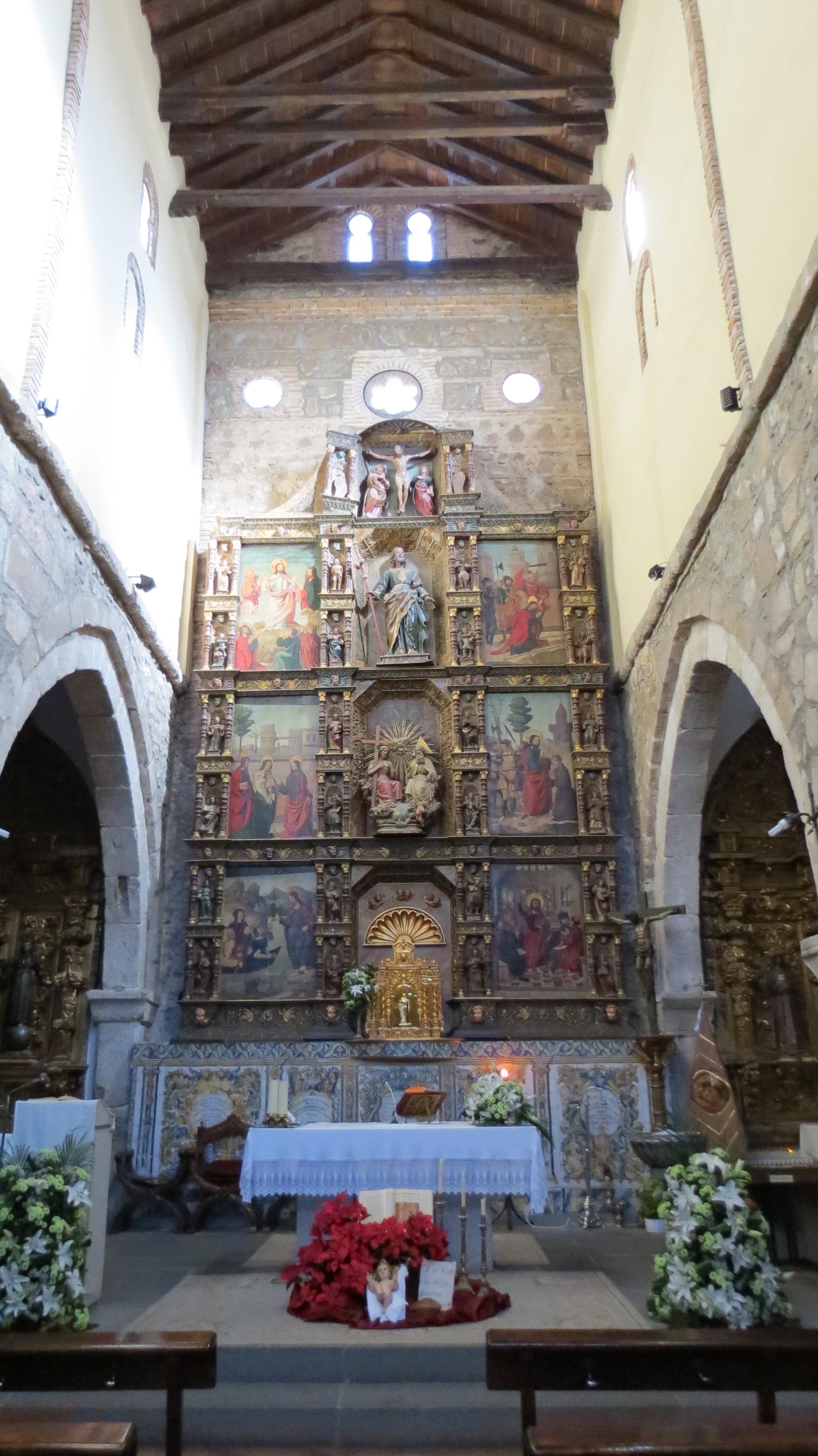 File iglesias santiago talavera jpg wikimedia commons - Azulejos reina ...