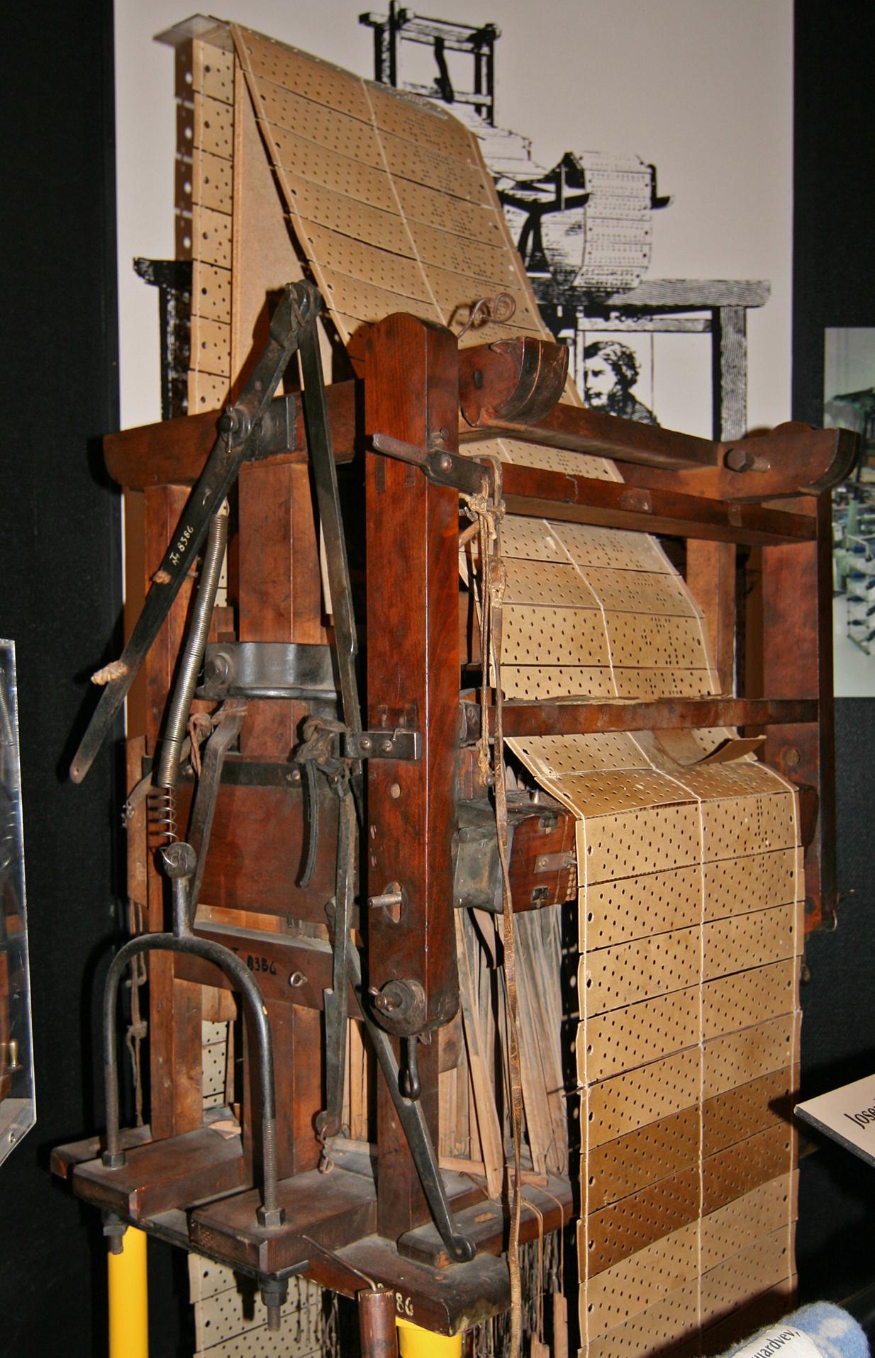 File:Jacquard loom.jpg - Wikimedia Commons