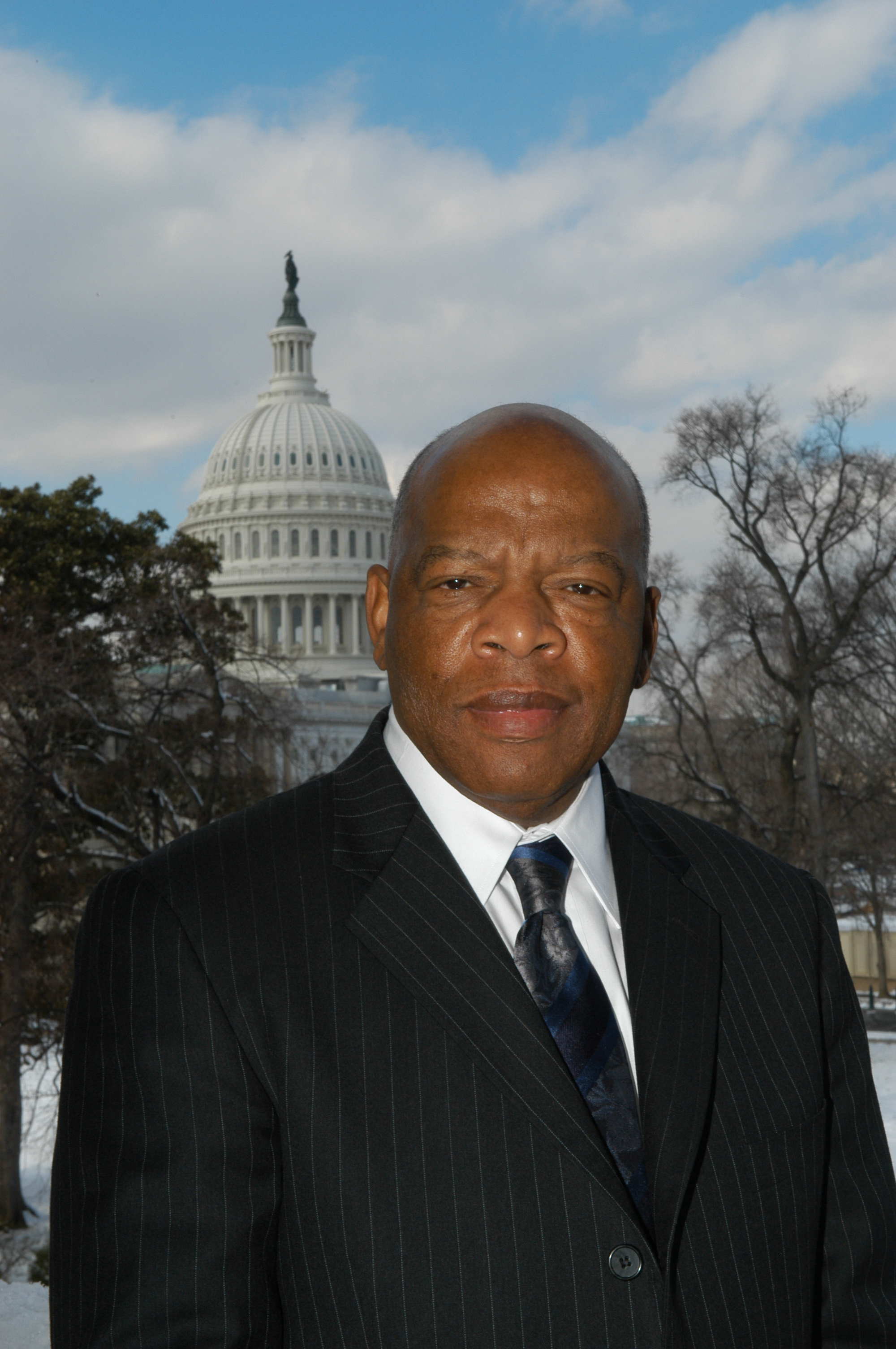 Congressman John Lewis (D-Ga.) boycotted the Trump inauguration (Image from Wikimedia Commons).