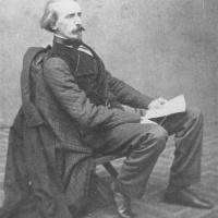 Josef Mánes na fotografii pocházející zřejmě z roku 1860, Praha.