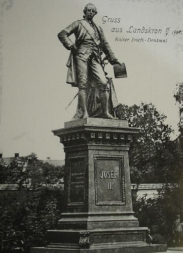 File:Joseph II, Holy Roman Emperor Removed Monument in Lanskroun.jpg