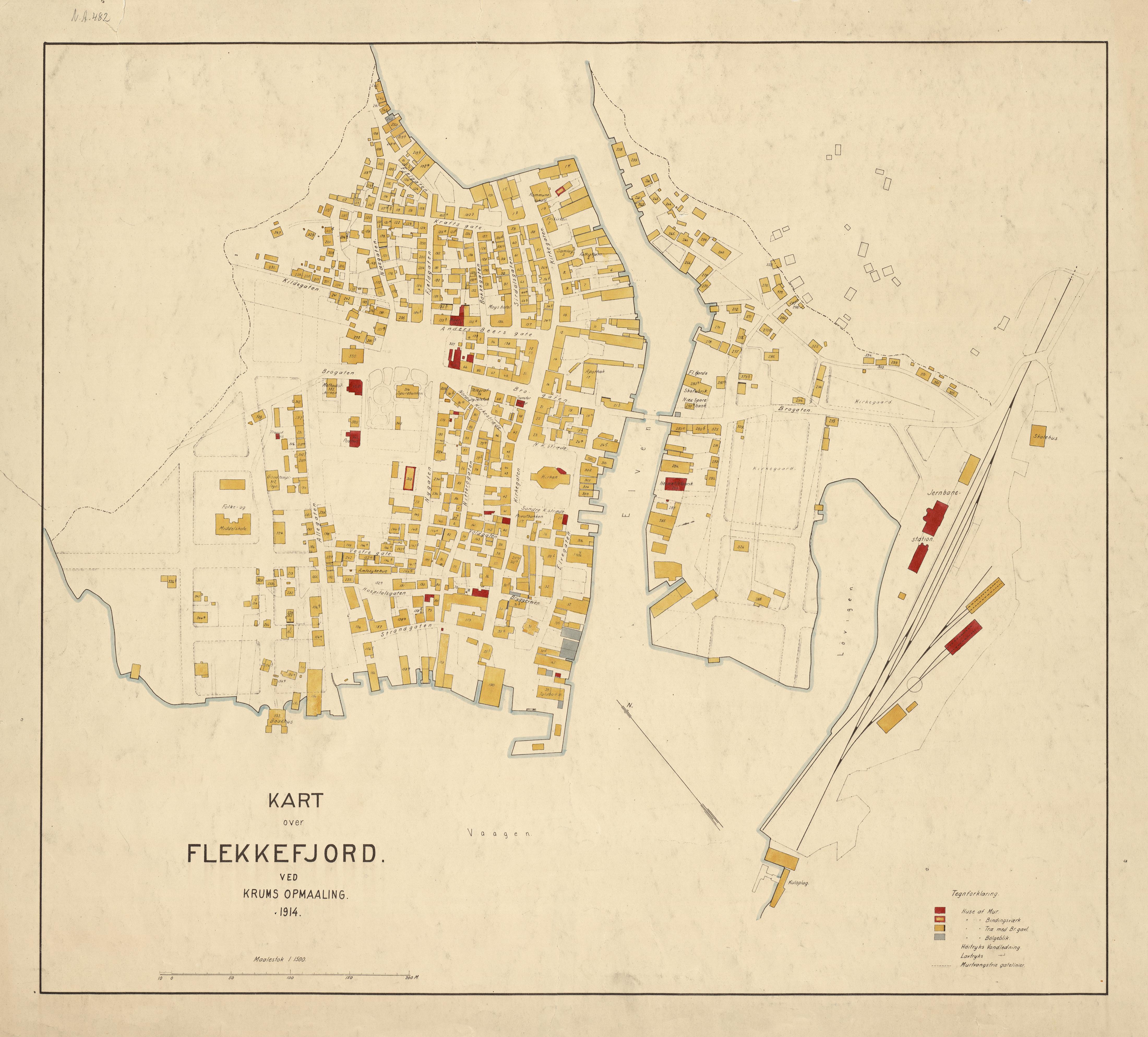FileKart over Flekkefjord 1914 Nonb krt 01284jpg Wikimedia