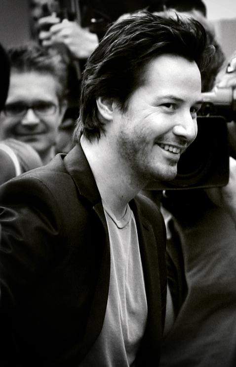 Keanu Reeves im September 2006 in London bei der Premiere zu Das Haus am See