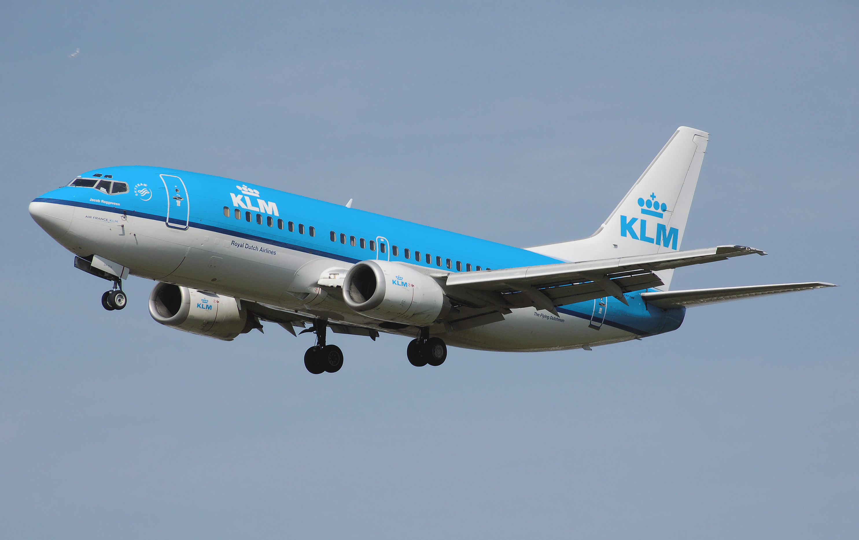 File:Klm.b737 300.ph Bdp.arp on Hd Plane Wallpapers
