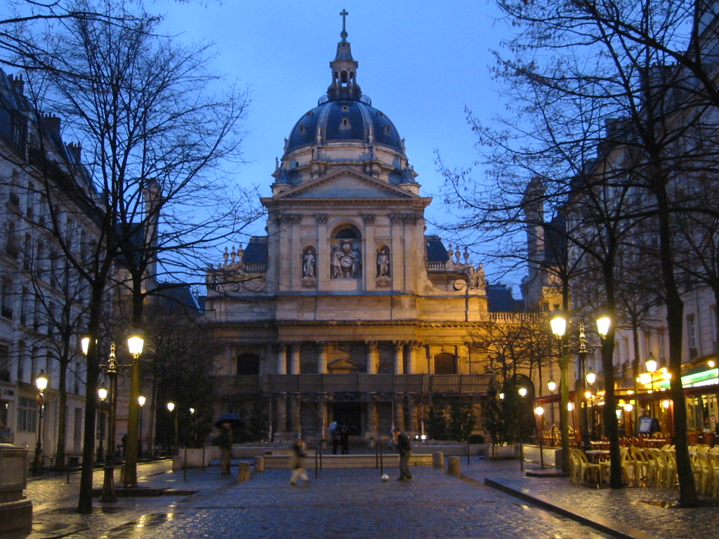 Latin Quarter Universität Sorbonne