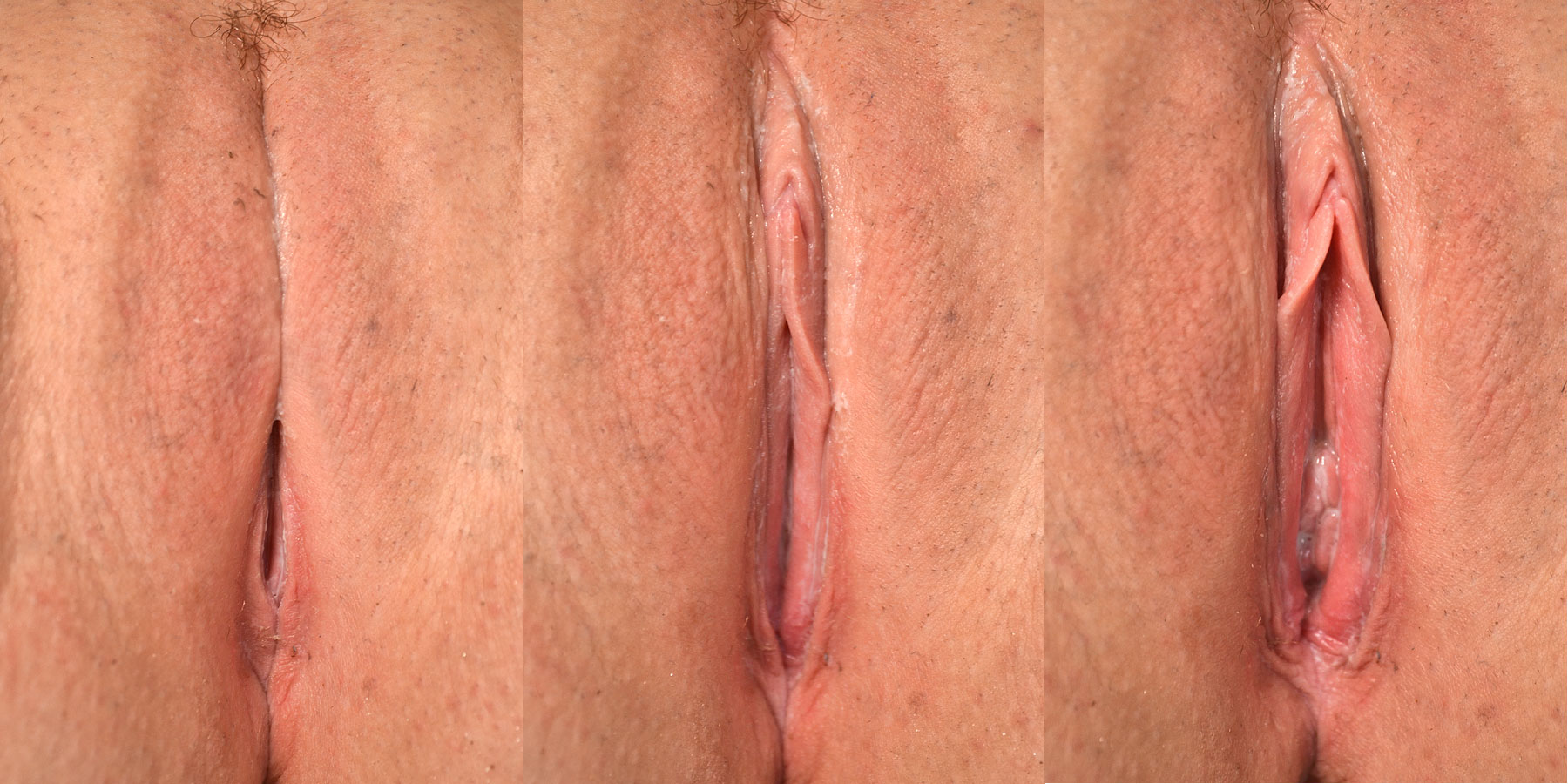 Dripping wet orgasm standing masturbation 2