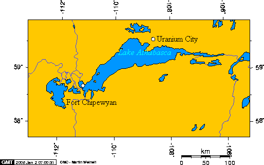 Llac Athabasca