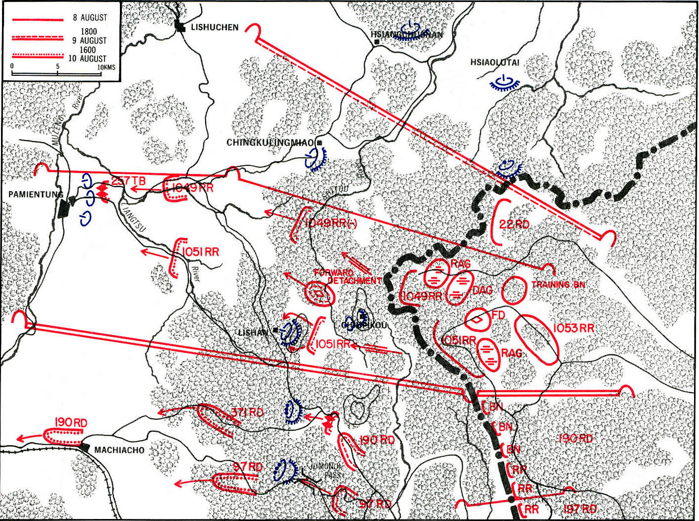 File:Leavenworth Paper No. 8 Map 2-1 August Storm 1st Red Banner ...