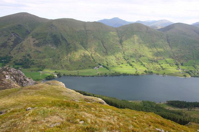 Llyn Cwellyn and the Moel Eilio Ridge - geograph.org.uk - 823092