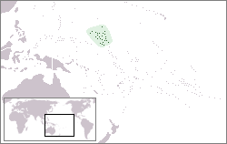 Location of Republic of the Marshall Islands