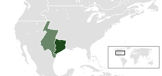 پرونده:Location of Republic of Texas.png